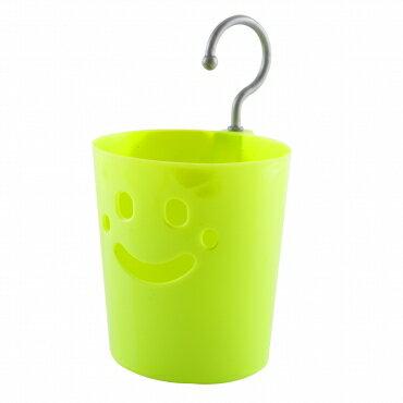 【豪上豪】微笑吊籃-小/NO.711/置物籃/籃子/掛勾吊籃(不挑色)