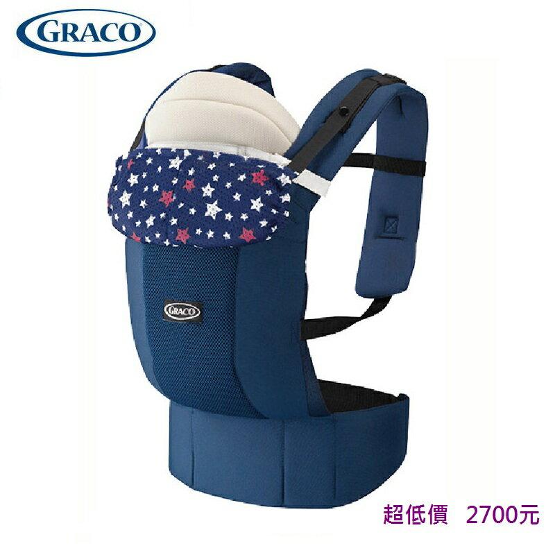 *美馨兒* 美國 GRACO 新生兒腰帶型4用途外出揹巾 Roopop Zero-滿天星 2700元