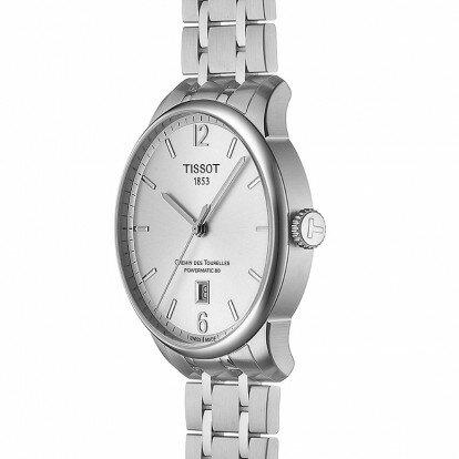 TISSOT 天梭錶 杜魯爾系列動力儲存80小時機械腕錶T0994071103700/42mm