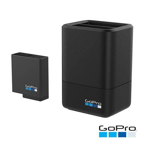【滿3千,15%點數回饋(1%=1元)】GOPRO雙電池充電器+電池(HERO56Black)公司貨免運費