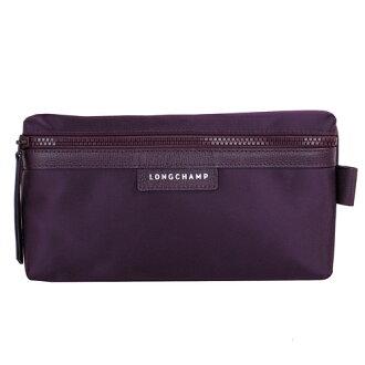 【LONGCHAMP】 LE PLIAGE NEO 系列 化妝包 - 紫色【滿3000領券現折300】