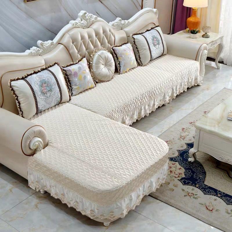 定制沙發墊U型L型布藝拆洗透氣加厚防滑四季通用沙發套保護罩