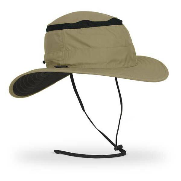《台南悠活運動家》SUNDAY抗UV防曬透氣圓盤帽沙岩SAS2A11020B-255-04