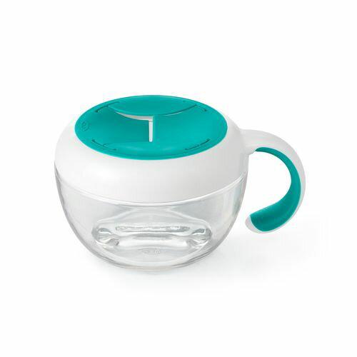 OXO tot  零食杯(含蓋)-靚藍綠★愛兒麗婦幼用品★