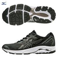男性慢跑鞋到J1GC184409(黑)最新雲波浪片支撐鞋款  WAVE INSPIRE 14 男慢跑鞋 S【美津濃MIZUNO】就在MIZUNO 美津濃推薦男性慢跑鞋