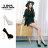 格子舖*【KF2598-3】韓國製造 絕美女神 仿蛇皮紋皮革 14CM金屬細高跟鞋 魚口跟鞋 2色 0