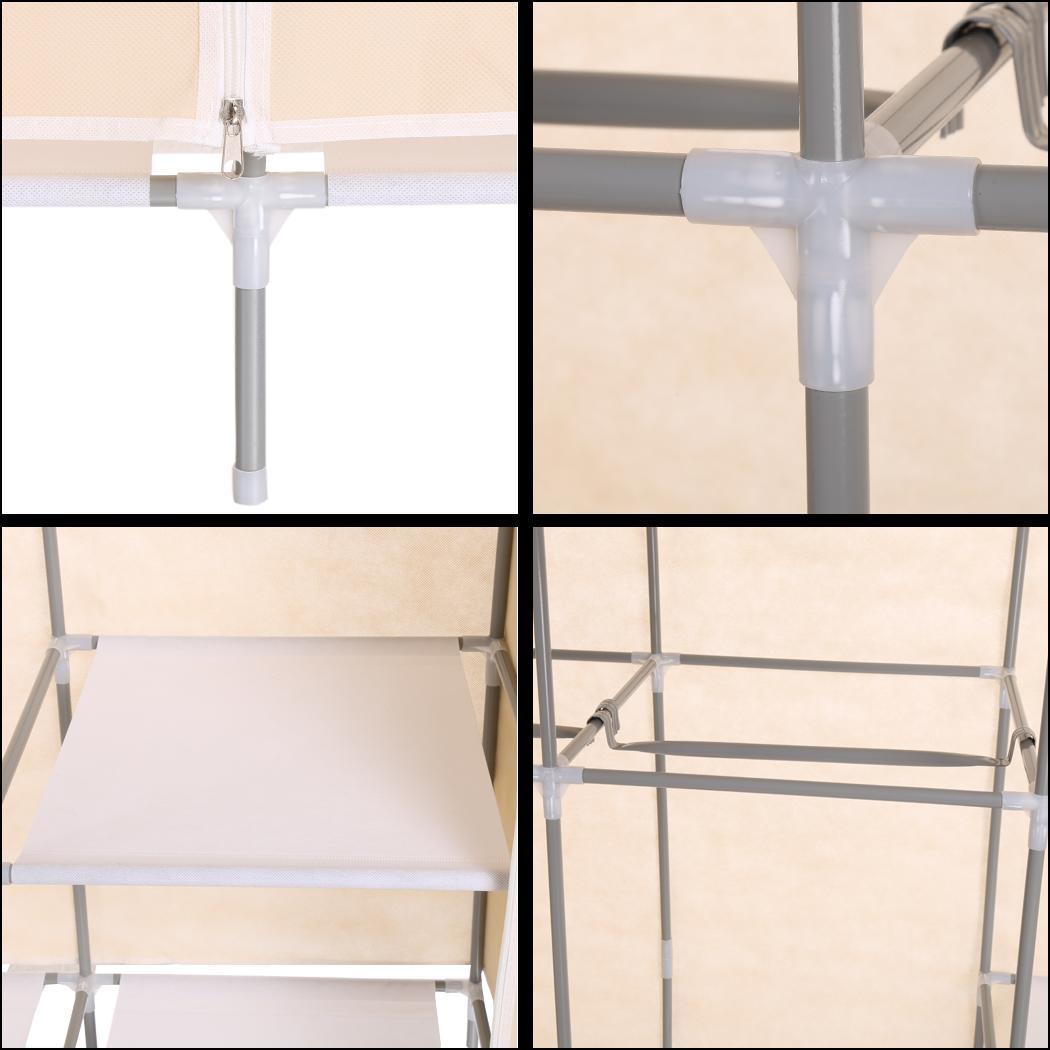 Non-Woven Folding Practical Closet Wardrobe 3