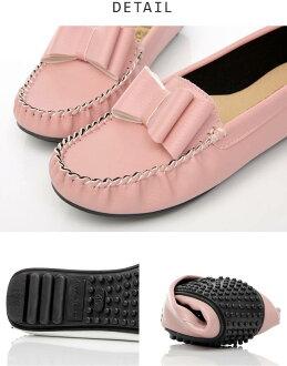 立體平結軟Q豆豆鞋(3色)