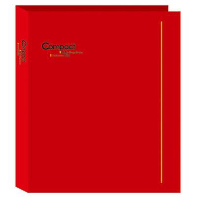 美加美 AO2071 COMPACT A4 3孔夾-紅 /個
