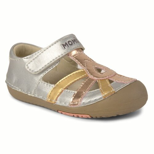 Momo-Baby-Girls-First-Walker-Toddler-Metallic-Sandal-Leather-Shoes