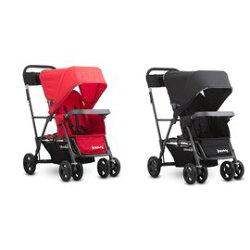 Joovy 輕量級雙人推車 黑/紅『121婦嬰用品館』