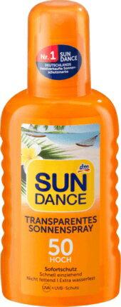 <br/><br/>  【德潮購】德國原裝Sun Dance高係數水感透明防曬噴露(水狀)LSF 50+, 200 ml<br/><br/>