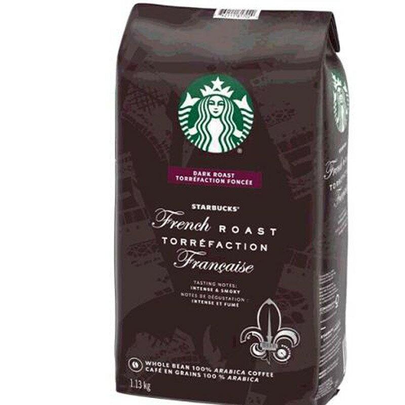 [COSCO代購] W111357 Starbucks 法式烘焙咖啡豆 1.13 公斤(2組)