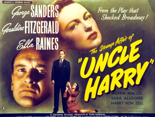 The Strange Affair Of Uncle Harry Rolled Canvas Art - (14 x 11) 72f74889bedc4adeb979c1857abad104