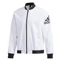 Adidas愛迪達,adidas愛迪達外套推薦到【ADIDAS】愛迪達 BOMBER WV WARM 男子 白 外套 -DW4617