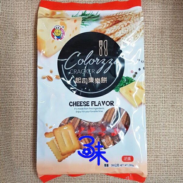 (馬來西亞)日日旺樂樂餅-起司口味1包280公克特價85元【4712893946261】(COLORZZI)