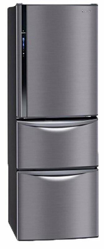 Panasonic 國際牌 385公升 智慧節能變頻三門冰箱 NR-C387HV-K