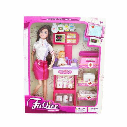 [敵富朗超市]芭比娃娃醫護組