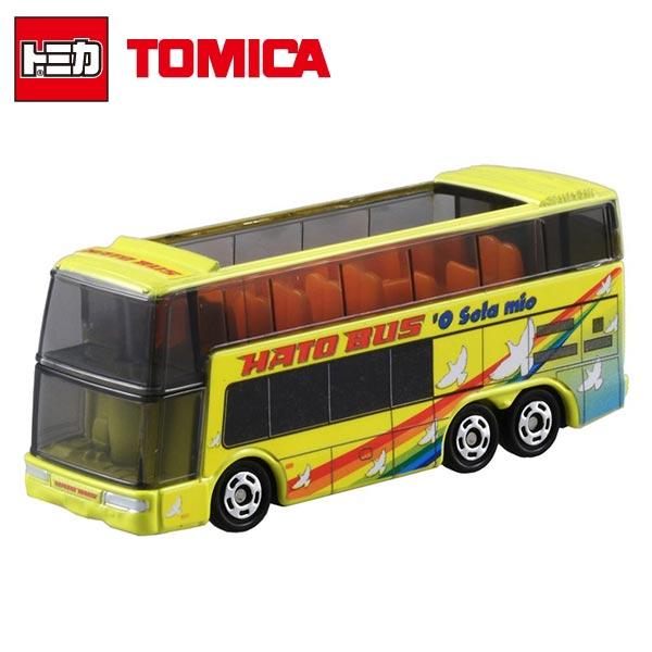 【日本進口】TOMICA 多美小汽車 HATO BUS 哈多 雙層巴士 NO.42 玩具車 巴士 - 859420
