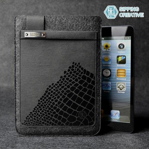 設計款紙革鱷魚紋iPadMini保護套5217SHOPPING