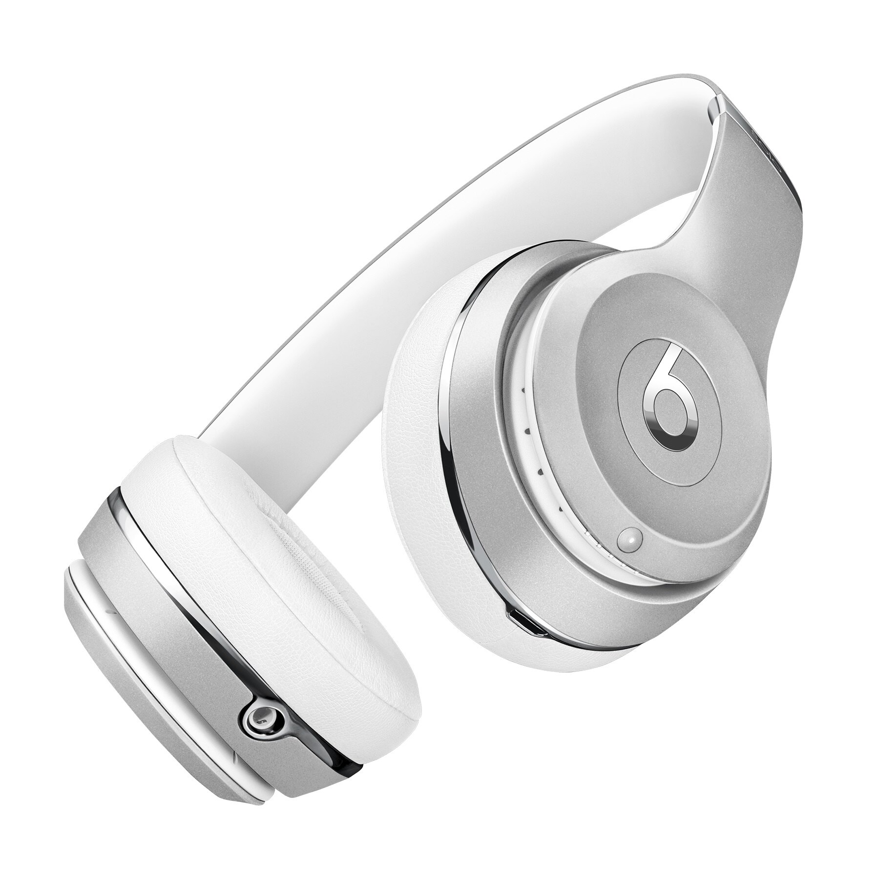 Beats Solo3 Wireless On-Ear Headphones - Silver 2