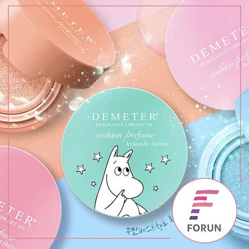 FORUN BEAUTY:韓國Demeter限量嚕嚕米氣墊香水八款任選2.5g