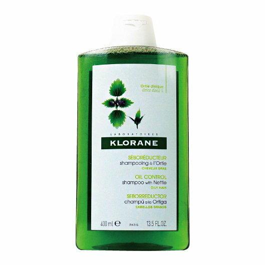 Klorane葦麻控油洗髮精400ml【櫻桃飾品】【27168】