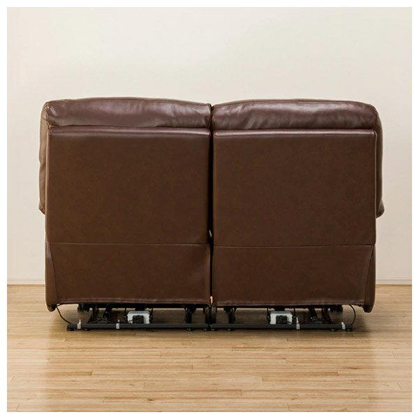 ◎全皮2人用頂級電動可躺式沙發 BELIEVER ROYAL DBR NITORI宜得利家居 3