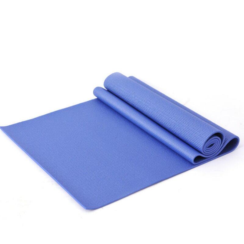 加厚瑜珈墊6mm 運動墊 防滑墊 附瑜珈背袋 收納袋172x60x0.6【DO160】  123便利屋