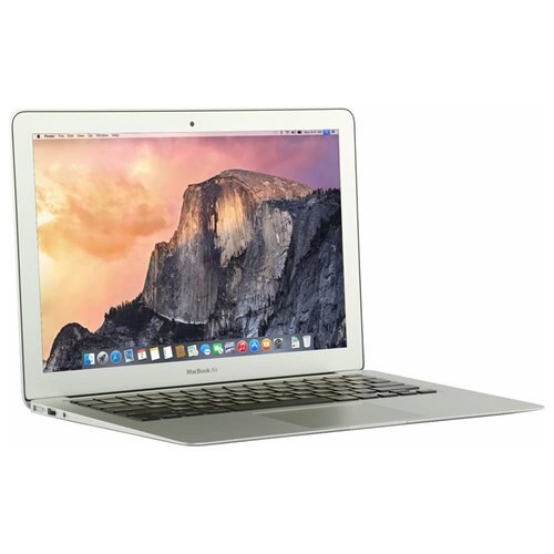 "Apple MacBook Air MJVE2LL/A 13.3"" LCD Notebook - Intel Core i5 Dual-core (2 Core) 1.60 GHz - 4 GB LPDDR3 - 128 GB SSD - Mac OS X 10.10 Yosemite - 1440 x 900 - Silver - Intel HD Graphics 6000 - Bluetooth - English Keyboard - Front Camera/Webcam - IEEE 802. 1"