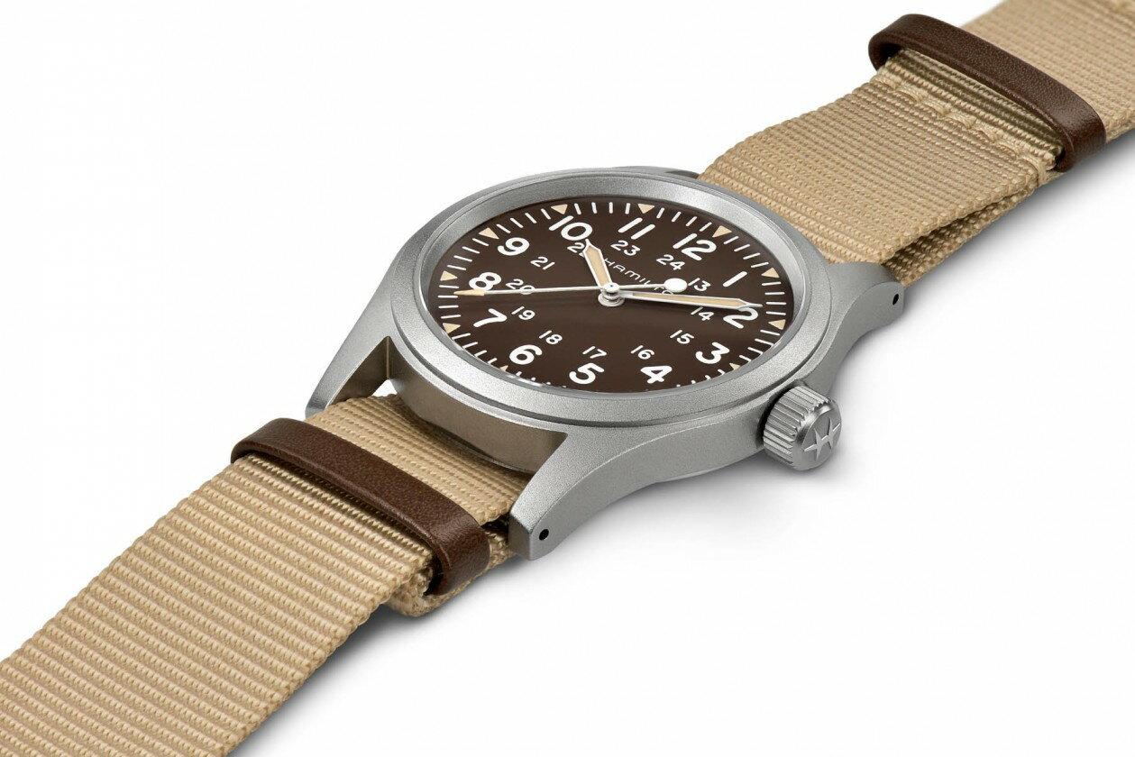 Hamilton 漢米爾頓 Khaki Field 卡其野戰系列軍事腕錶 H69429901 卡其色系 38mm 2