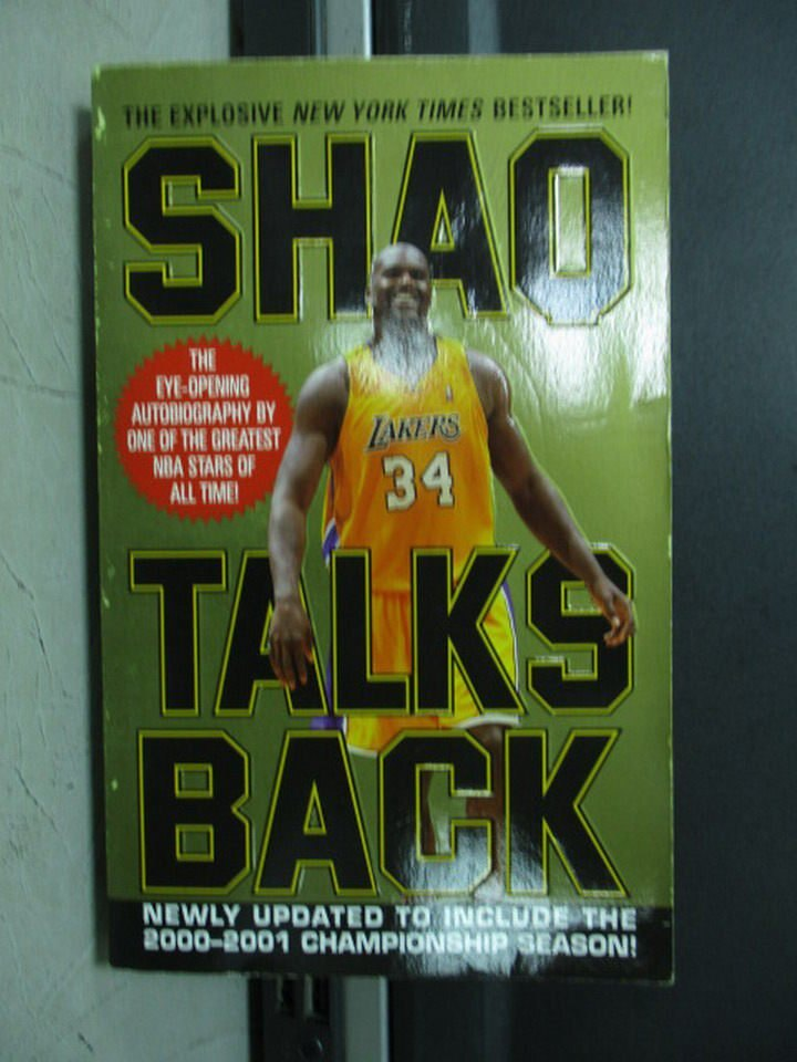 【書寶二手書T3/傳記_LOK】Shaq Talks Back_O'Neal, Shaquille