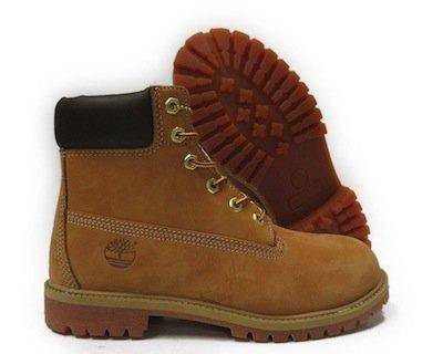 TIMBERLAND 6 INCH PREM 淺棕色 高筒 大童  女鞋 US 4~7 T