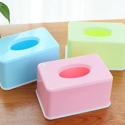 PS Mall 糖果色紙巾盒家用客廳茶几桌面抽紙盒【J008】 2