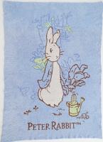 彌月寢具用品推薦到【淘氣寶寶*2019新款】奇哥 Peter Rabbit 比得兔雙層柔舒毯(藍) PLB98000B【精選彌月禮盒組】就在淘氣寶寶推薦彌月寢具用品