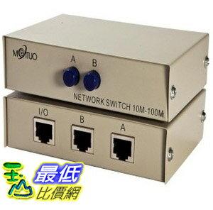 _B@ [玉山最低比價網 有現貨] 手動式 SHARE SWITCH 2對1 網路線 RJ45 共用 切換器 (9920325_G23) dd