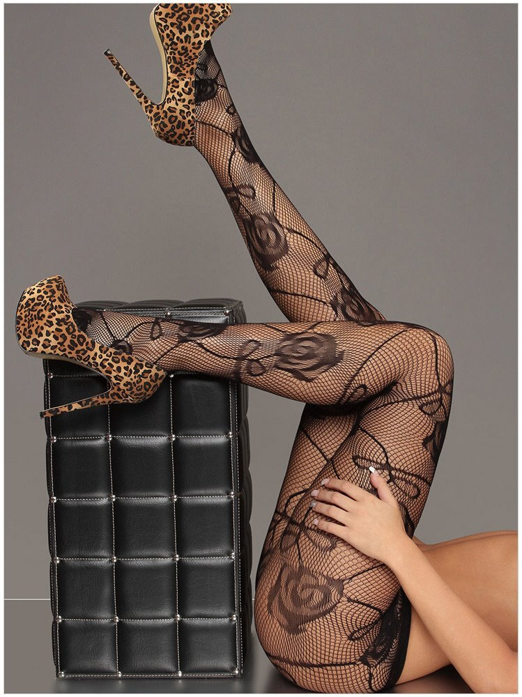 2015時尚歐美百搭女士誘人性感黑色斑馬網高腰連褲襪絲襪 79616