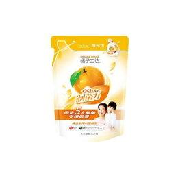 橘子工坊 天然濃縮洗衣精-制菌 補充包1500ml★衛立兒生活館★