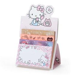 【真愛日本】18051800013 日本製自黏便箋-KT加ACO 凱蒂貓 kitty 便利貼 便條紙 文具