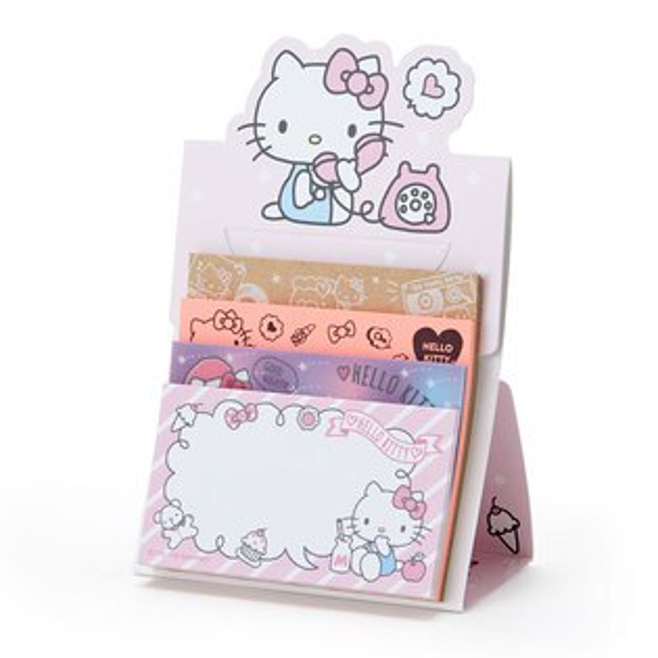【真愛日本】18051800013日本製自黏便箋-KT加ACO凱蒂貓kitty便利貼便條紙文具