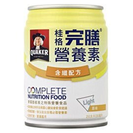 *最低1箱1100元*【桂格】完膳營養素(含纖配方原味) 24瓶/箱 0
