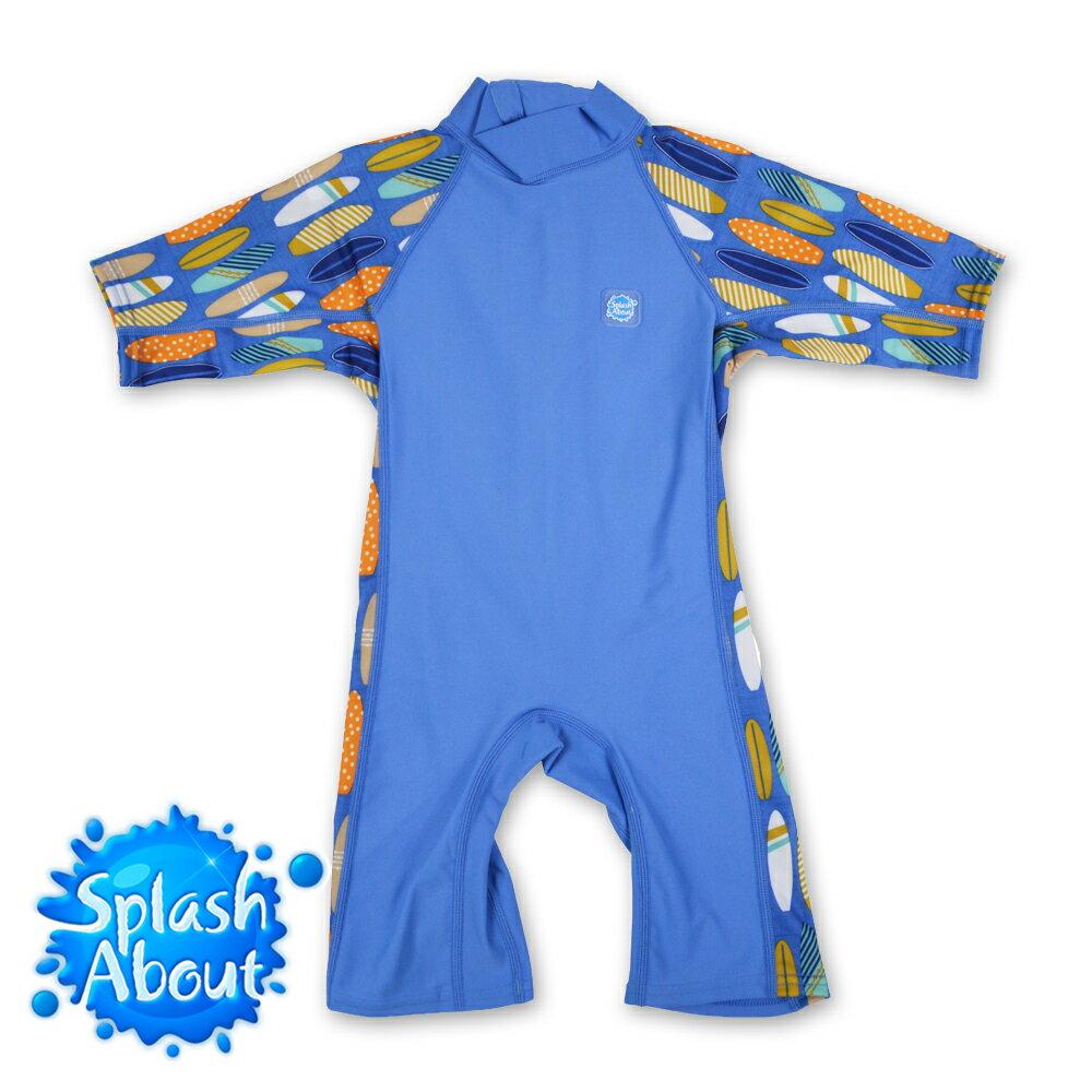 《Splash About 潑寶》Toddler UV Suit 兒童抗UV連身泳裝 - 衝浪小子