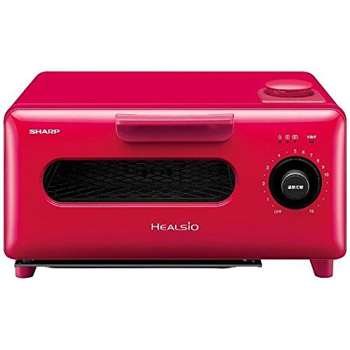 日本公司貨 紅色 SHARP AX-H1 水波爐蒸氣烤箱 吐司烤箱 溫度控制 蒸氣 四種菜單模式 三段火力 烤吐司 日本必買代購