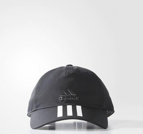 ADIDAS Classic 3-Stripes Cap 帽子 休閒 老帽 黑【運動世界】BK0821