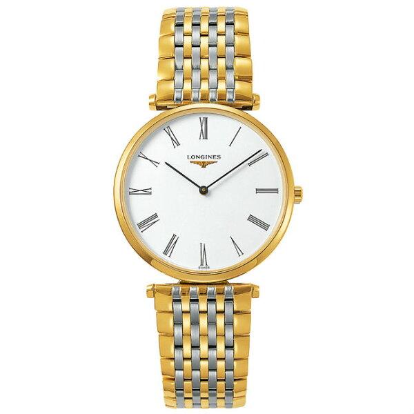 LONGINES浪琴錶L47552117嘉嵐石英超薄優雅腕錶白面36mm