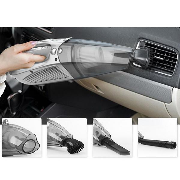 Portable Handheld Auto Car Wet Dry Vacuum Cleaner with Air Compressor 1
