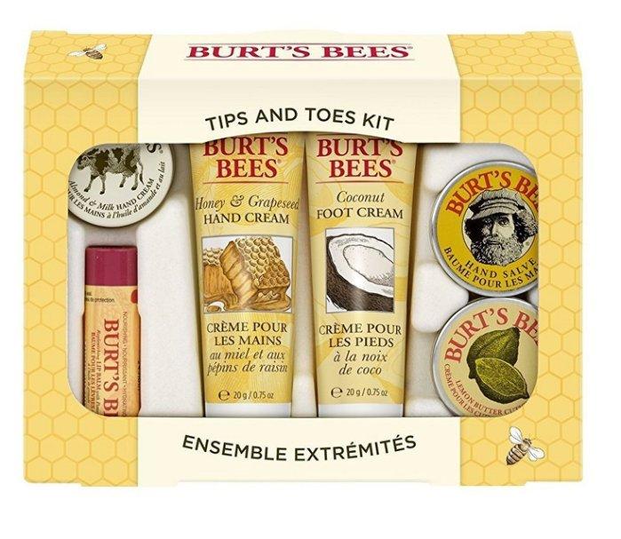 【彤彤小舖】Burt s bees 蜜蜂爺爺 從頭到腳禮盒組 6件組 Tips And Toes Kit 美國原裝禮盒