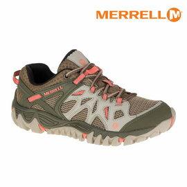 ├登山樂┤美國MERRELL 水陸兩棲運動鞋 卡其/粉紅 # ML32816