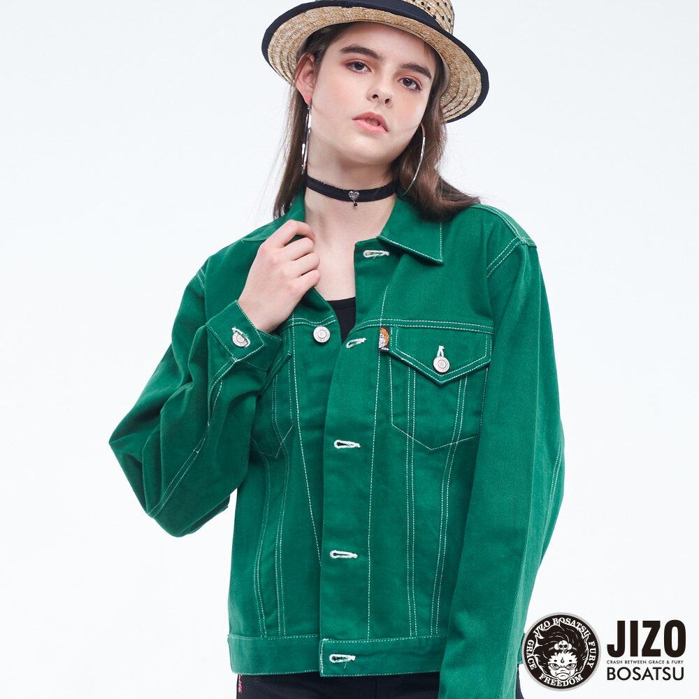 BLUE WAY   地藏小王 高磅數復古燈芯絨襯衫外套(男女款) 2