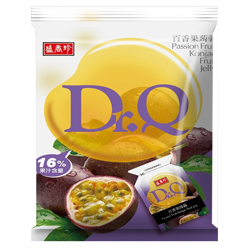 盛香珍Dr.Q百香果蒟蒻果凍 265g